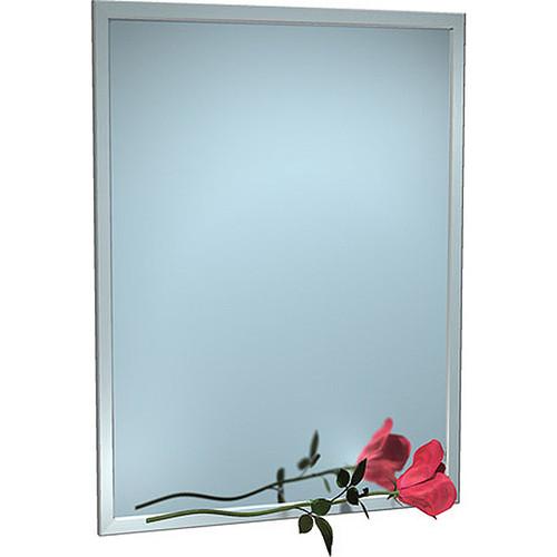 ASI Inter-Lok Stainless Steel Framed Mirror