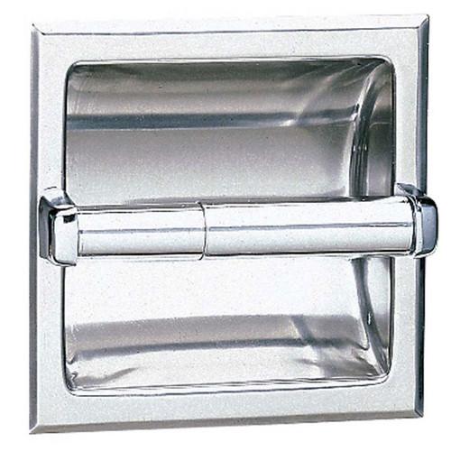 Bobrick Recessed Toilet Tissue Dispenser - 600 Series