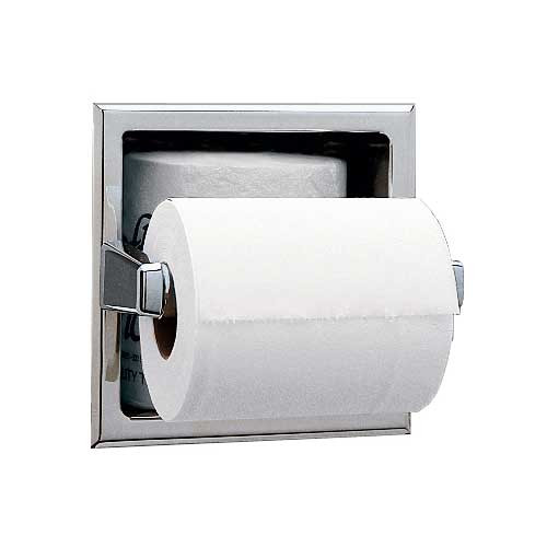 Bobrick Toilet Tissue Dispenser with Extra Roll Storage