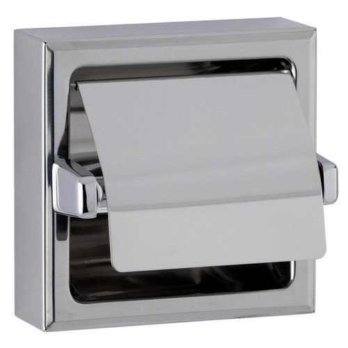 Bobrick Surface Mounted Toilet Tissue Dispenser with Hood