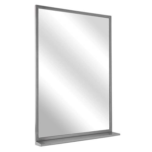 Bradley Angle Frame Float Glass Mirror with Shelf