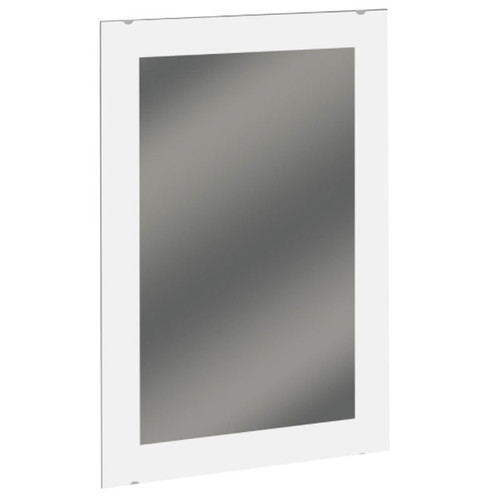 Bradley Frameless Mirror with Frosted Solid Border - Plate Glass