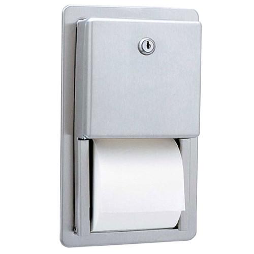 GAMCO Recessed Multi-Roll Toilet Tissue Dispenser TTD-6