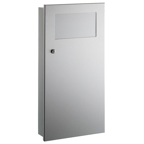 GAMCO Recessed Waste Receptacle WR-9 - Coverall Series