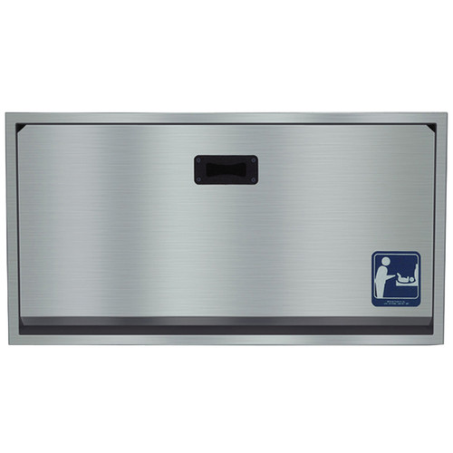 Bradley Stainless Steel Baby Changing Station