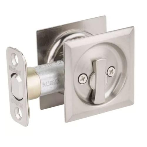 Kwikset Square Privacy Pocket Door Lock