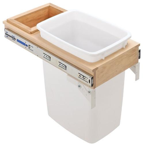 Hafele-Wood-Frame-Sliding-Side-Mount-Single-Waste-Bin-503.08.131-pic1