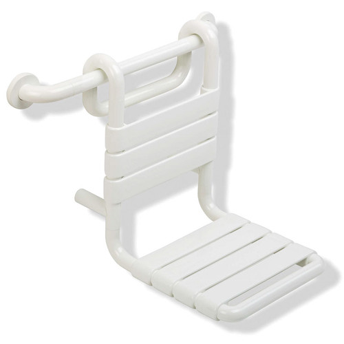"""HEWI Nylon Removable Hanging Shower Seat 13-9/16"""" Wide"""
