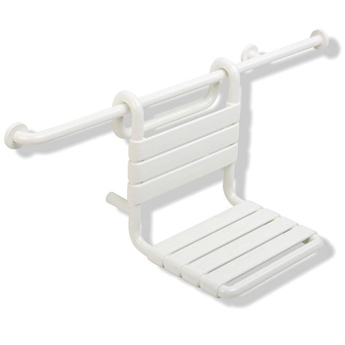"""HEWI Nylon Removable Hanging Shower Seat 17-5/8"""" Wide - Series 801"""