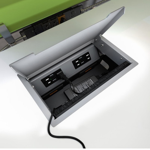 Seclusion Hide It Kit for Recessed Desktop Installation