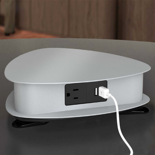 Drifter Tabletop Power Station - 3 Power, 6 Active USB Ports - ECA