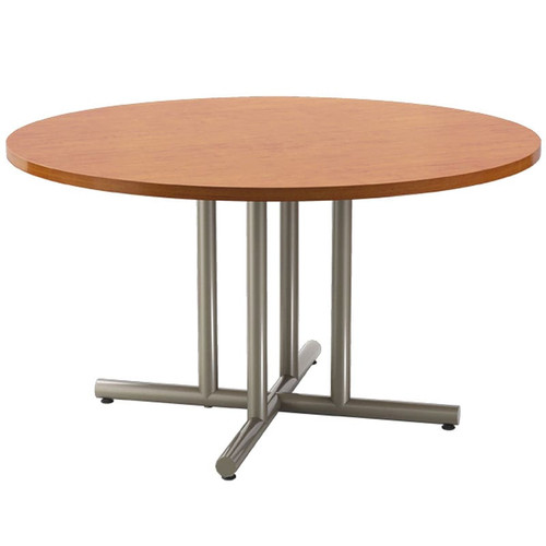 4-Post Metal X-Base Table Pedestal