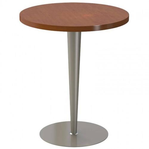 Tapered Column Metal Disc Pedestal Table Base