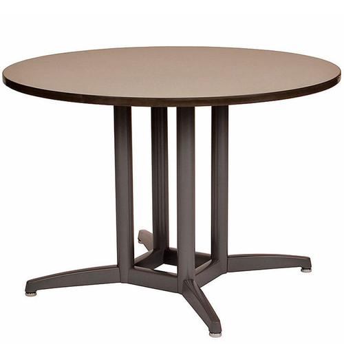 4-Post Durable Cast X-Base Table Pedestal