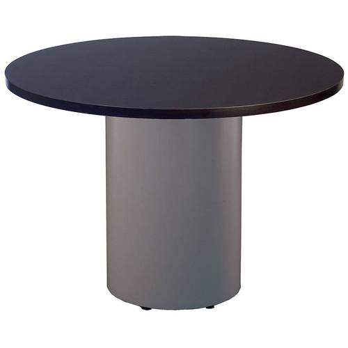 Large Metal Cylinder Pedestal Table Base