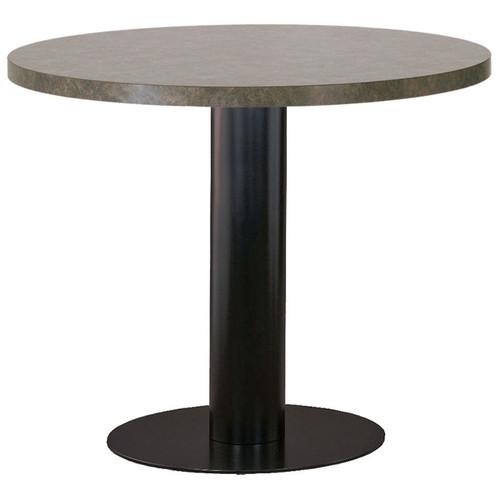 Metal Disc Pedestal Table Base
