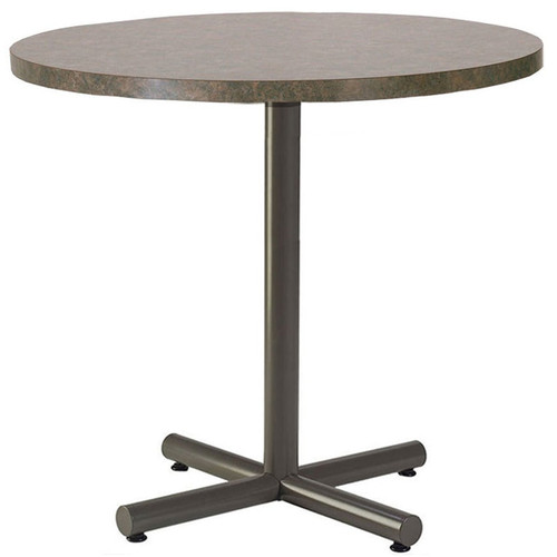 Metal X-Base Table Pedestal