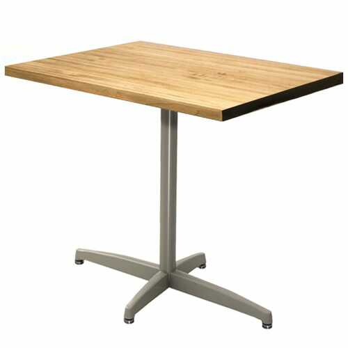 Durable Cast X-Base Rectangular Table Pedestal