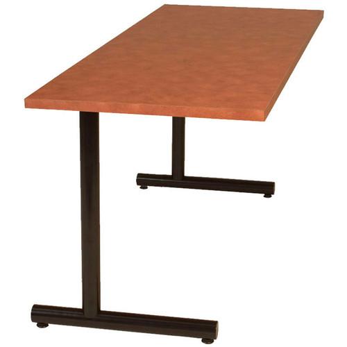 Tubular C-Base Metal Table Support (set of 2)