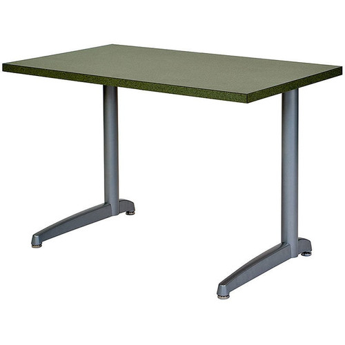 Durable Cast C-Base Metal Table Support (Set of 2)