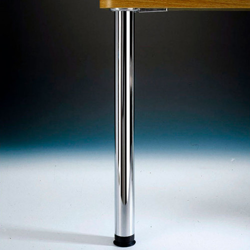 """Zoom Leg Single, 2-3/8"""" diameter, adjusts from 27-3/4"""" up to 31-3/4"""" tall"""