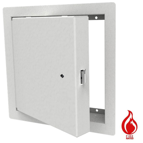 """Fire Rated Security Access Panel - Exposed 1"""" Flange - Babcock-Davis - Image 1"""