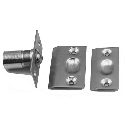Commercial offset door pulls Centralazdining Pdq Adjustable Ball Strike With Catch Door Or Jamb Mount each Commercial Door Hardware Supply Commercial Flat Goods Pulls Push Plates Stops From Pdq