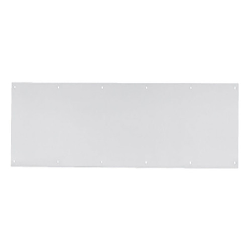 """PDQ Mop and Kick Plates Door Protection - .050"""" Stainless Steel - image 1"""