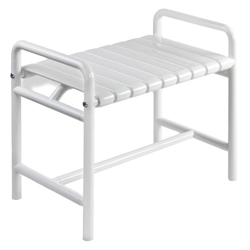 """HEWI Nylon Shower Bench Free Standing 27-1/16"""" Wide - Series 801"""