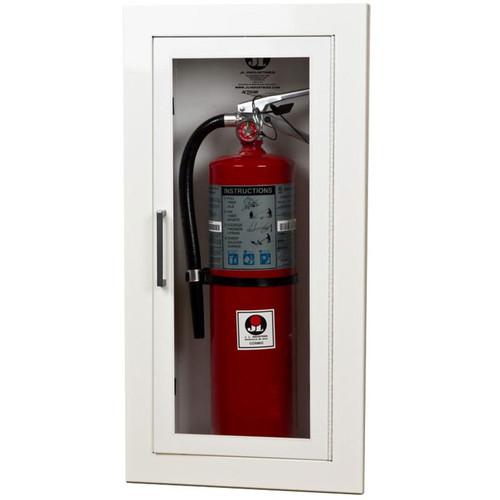 Recessed Steel Fire Extinguisher Cabinet - Ambassador JL Industries
