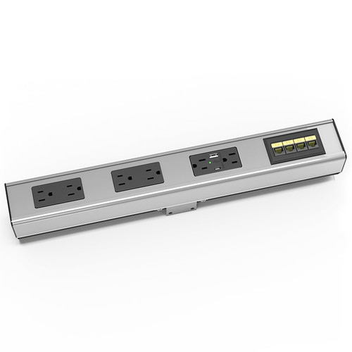 Seclusion G2 Relocatable Hub - 6 Power plus Data Options - Image 1