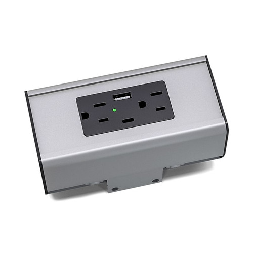 Seclusion G2 Relocatable Hub – 2 Power plus USB Options - Image 1