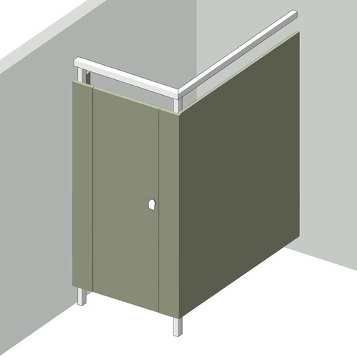 1 Stall In Corner Left Hand - Image 1
