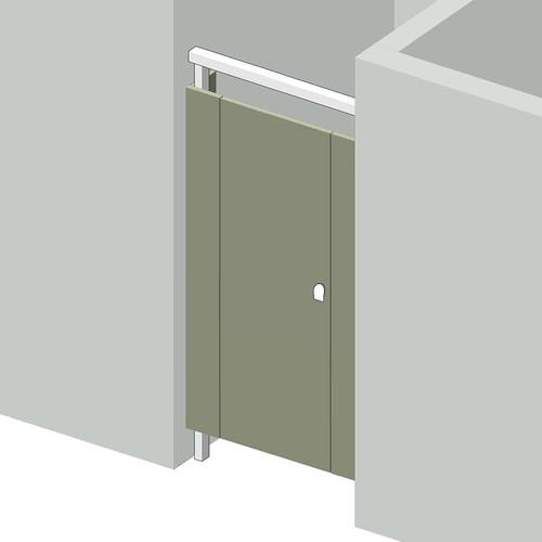 1 Stall Between Walls Left Hand - Image 1