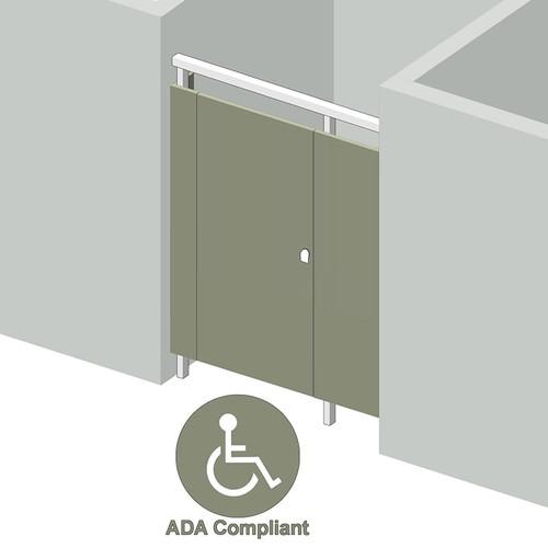 1 Stall ADA Between Walls Left Hand - Image 1