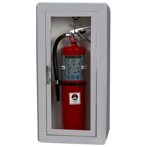 Semi-Recessed Fire Extinguisher Cabinet - Academy JL Industries