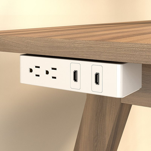 Under Desk Power Data Outlets Clutter Free Device Charging