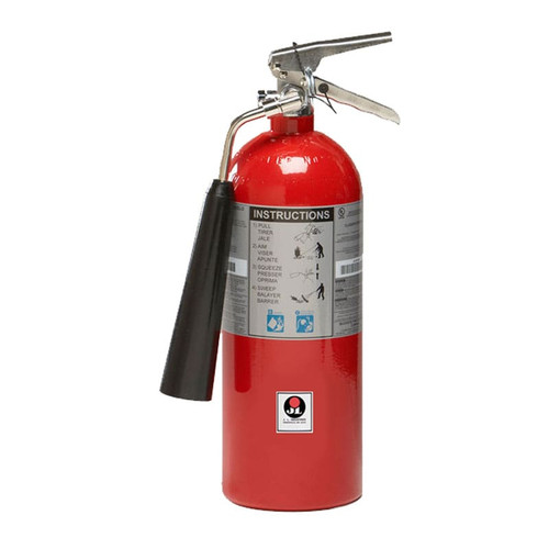 Carbon Dioxide (CO2) 5lb Fire Extinguisher -  Class BC Sentinel - JL Industries Image 1