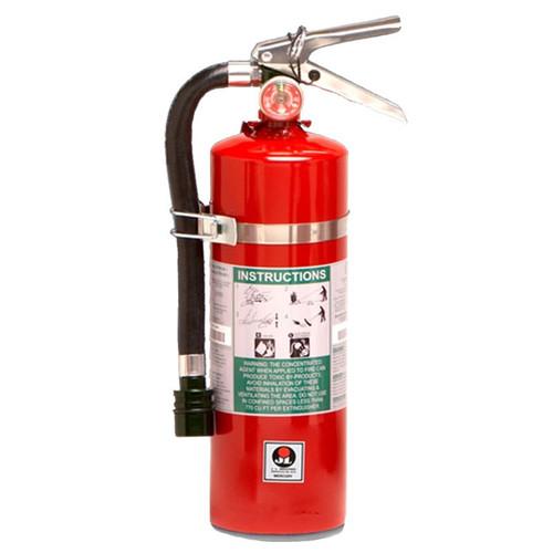 Halotron I 11lb Fire Extinguisher - Multi-Purpose Mercury - JL Industries Image 1
