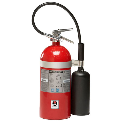 Carbon Dioxide (CO2) 10lb Fire Extinguisher -  Class BC Sentinel - JL Industries Image 1