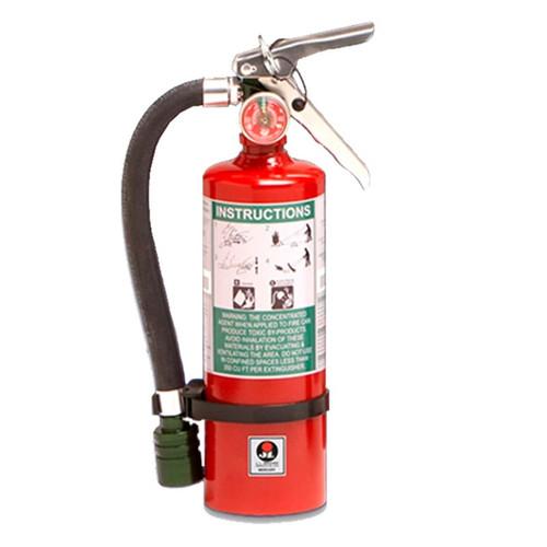 Halotron I 2.5lb Fire Extinguisher - Multi-Purpose Mercury - JL Industries