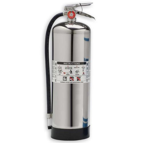 Pressurized Water 2.5gal. Fire Extinguisher - Class A - Larsen