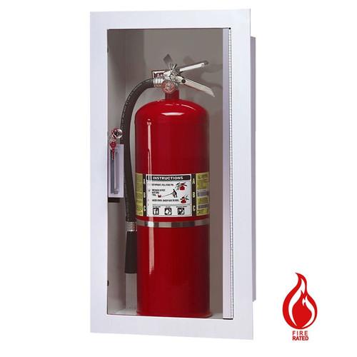 Recessed Fire Rated Extinguisher Cabinet - Larsen Gemini Series