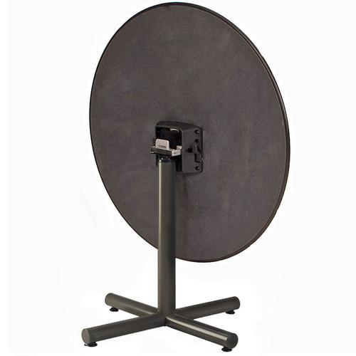 Height Adjustable Metal X-Base Table Pedestal with Flip Top Bracket