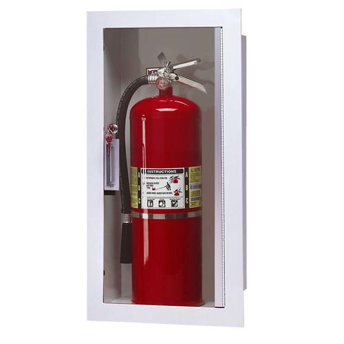 Recessed Fire Extinguisher Cabinet - Larsen Gemini Series