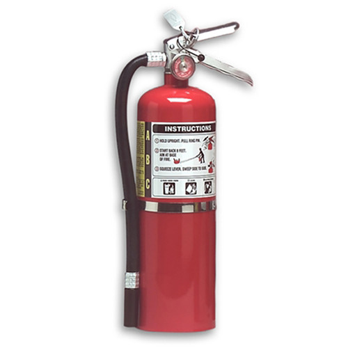 Halotron I 5 lbs Fire Extinguisher - Multi-Purpose - Larsen