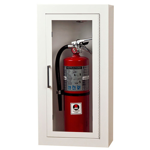 Surface Mount Steel Fire Extinguisher Cabinet - Ambassador JL Industries