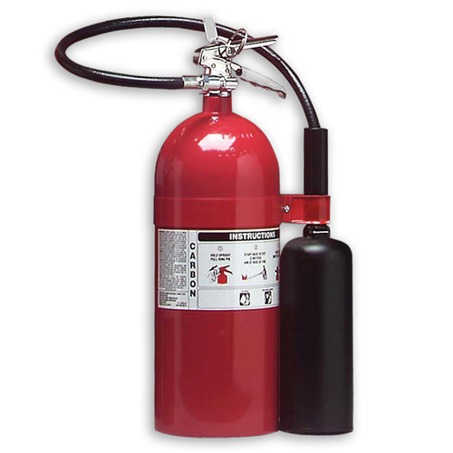 Carbon Dioxide (CO2) 15lb Fire Extinguisher - Class BC - Larsen