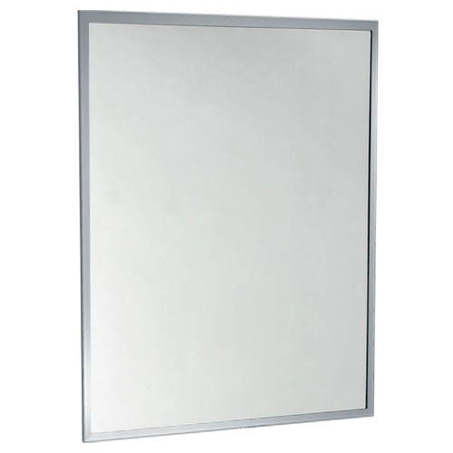 ASI Inter-Lok Stainless Steel Frame Mirror - Tempered Glass