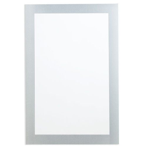 Kentwood Frameless Rectangle Mirror with Frosted Border 345